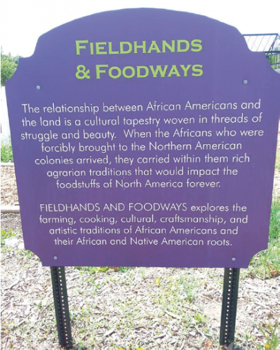 fieldhands and foodways sign