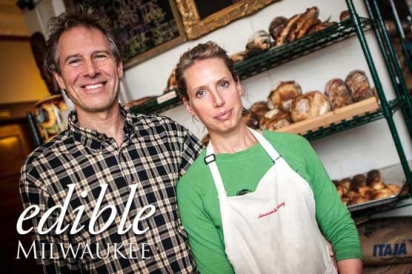 Dave and Steph from Amaranth Bakery and Cafe