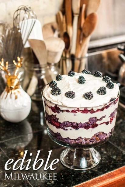 Blueberry Trifle