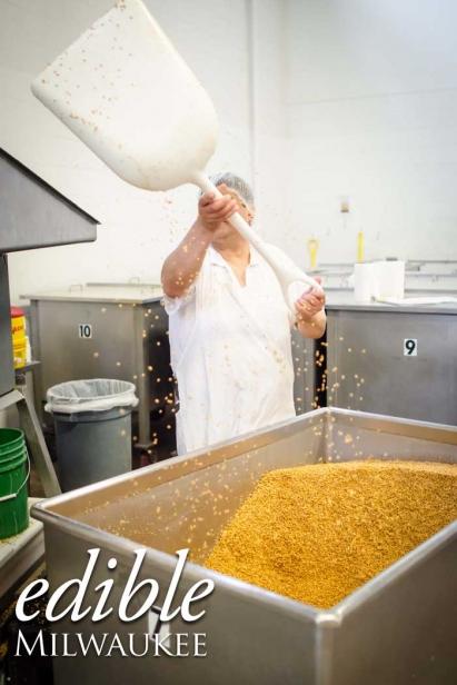 Shifting Through Grains at Angelic Bakehouse