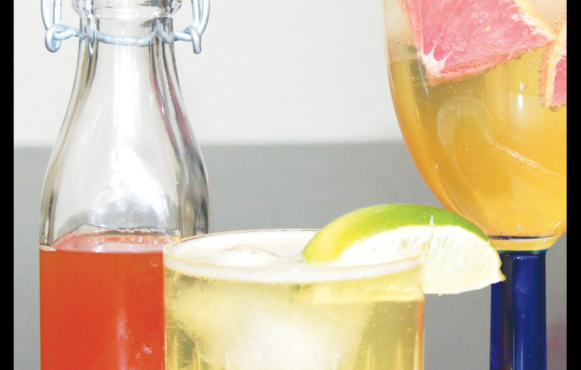 craft G&T, flavored tonic syrups