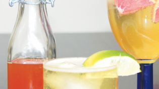 tonic syrup and cocktails